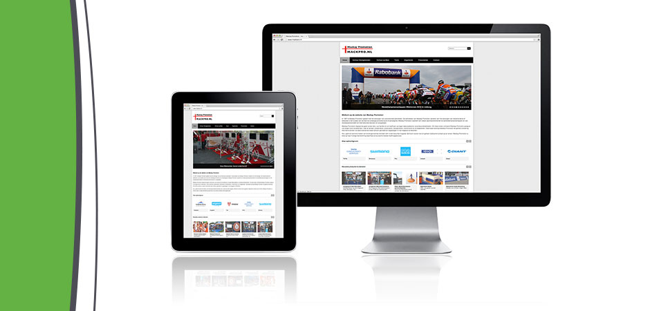 Interactive website Mackay Promotion