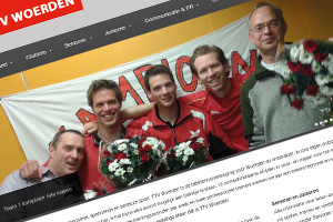 Website TTV Woerden