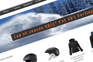 Webshop The Boardercross